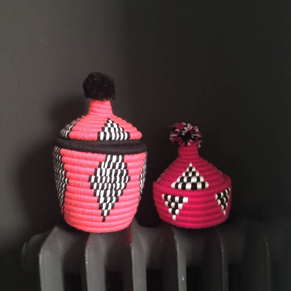 Marokańskie koszyki