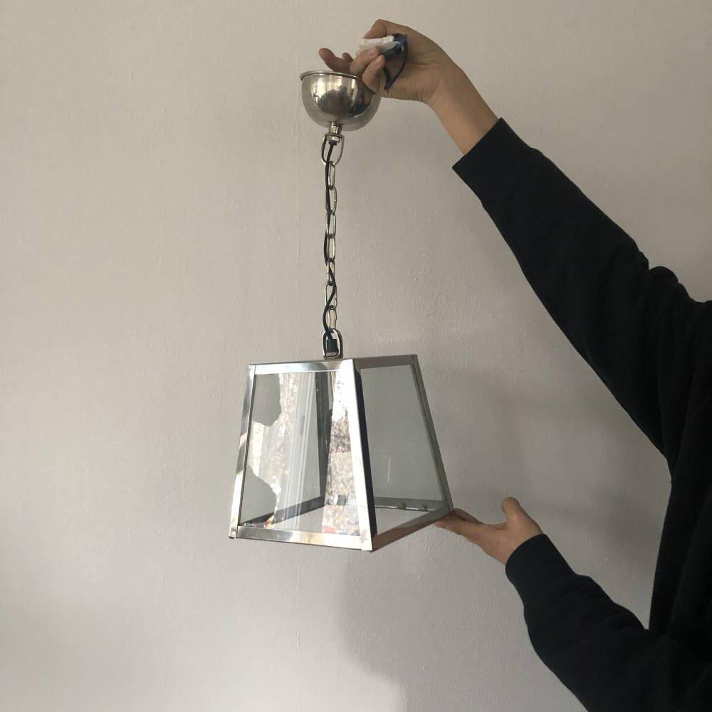 Lampa metalowa