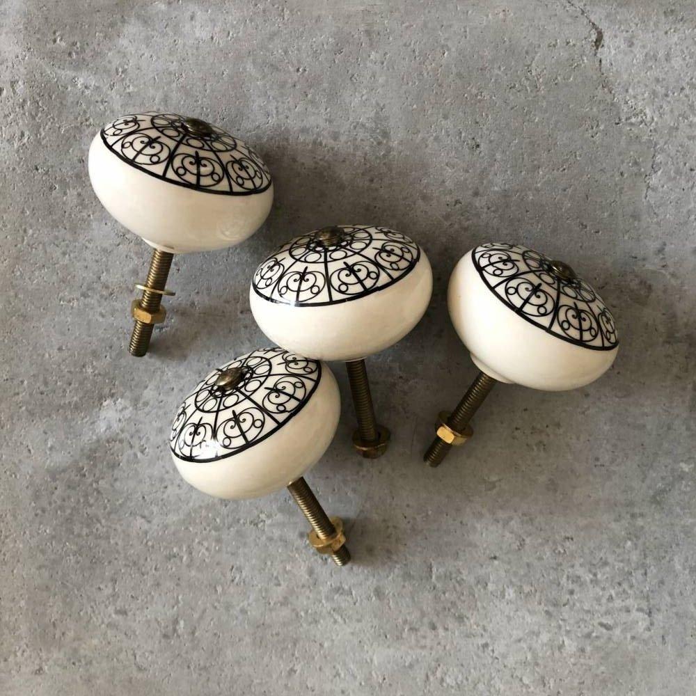 Gałki ceramika