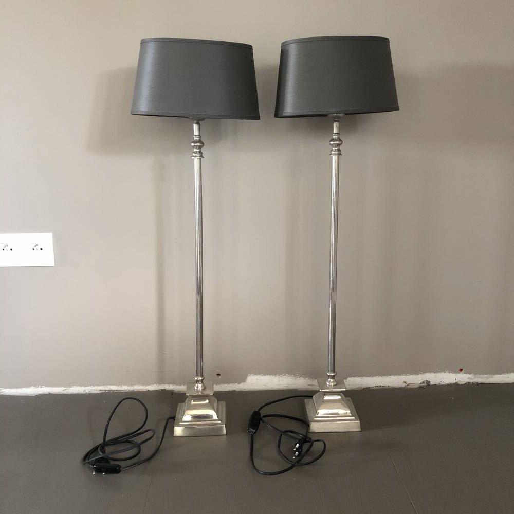 Komplet lamp stołowych