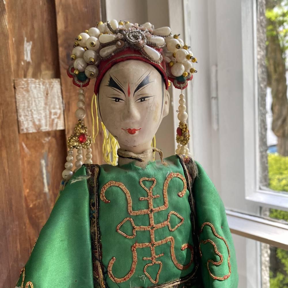 Wietnamska lalka teatralna