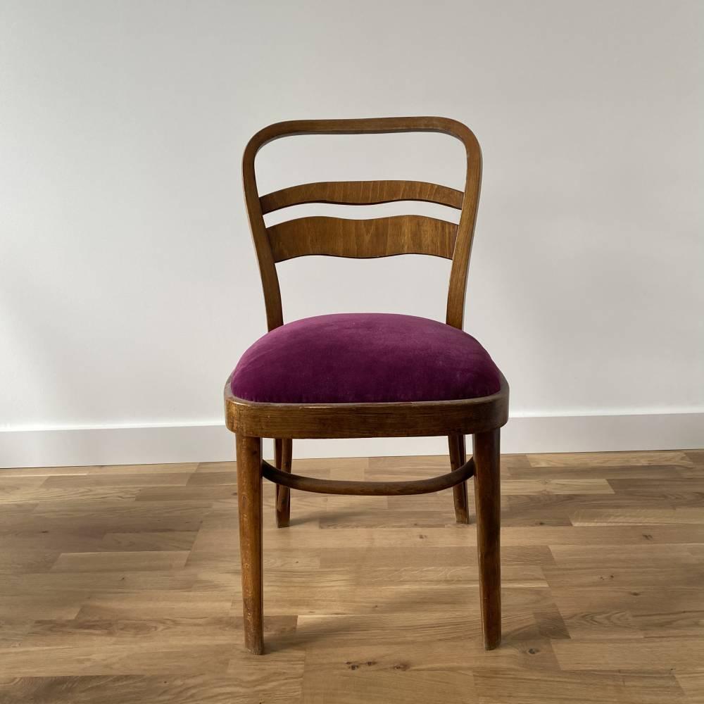 Krzesło z giętym oparciem