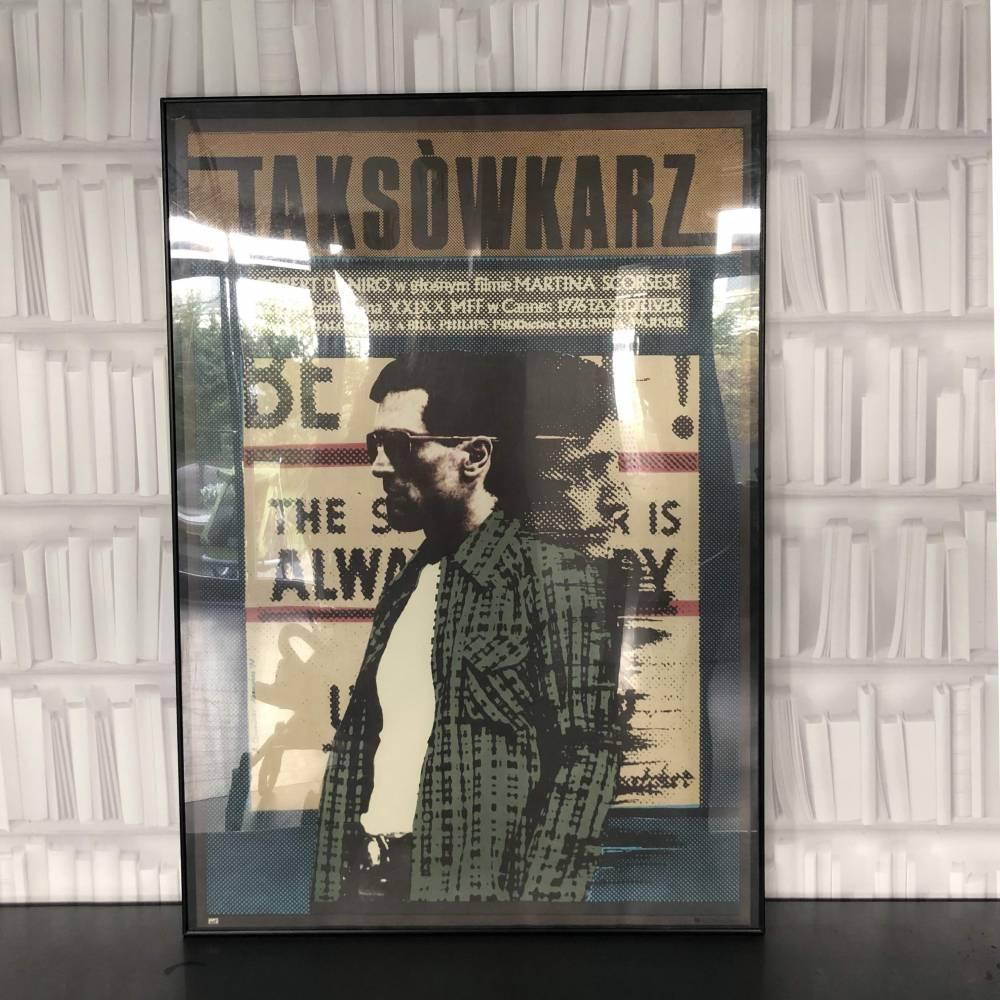 """Plakat """" Taksówkarz"""""""