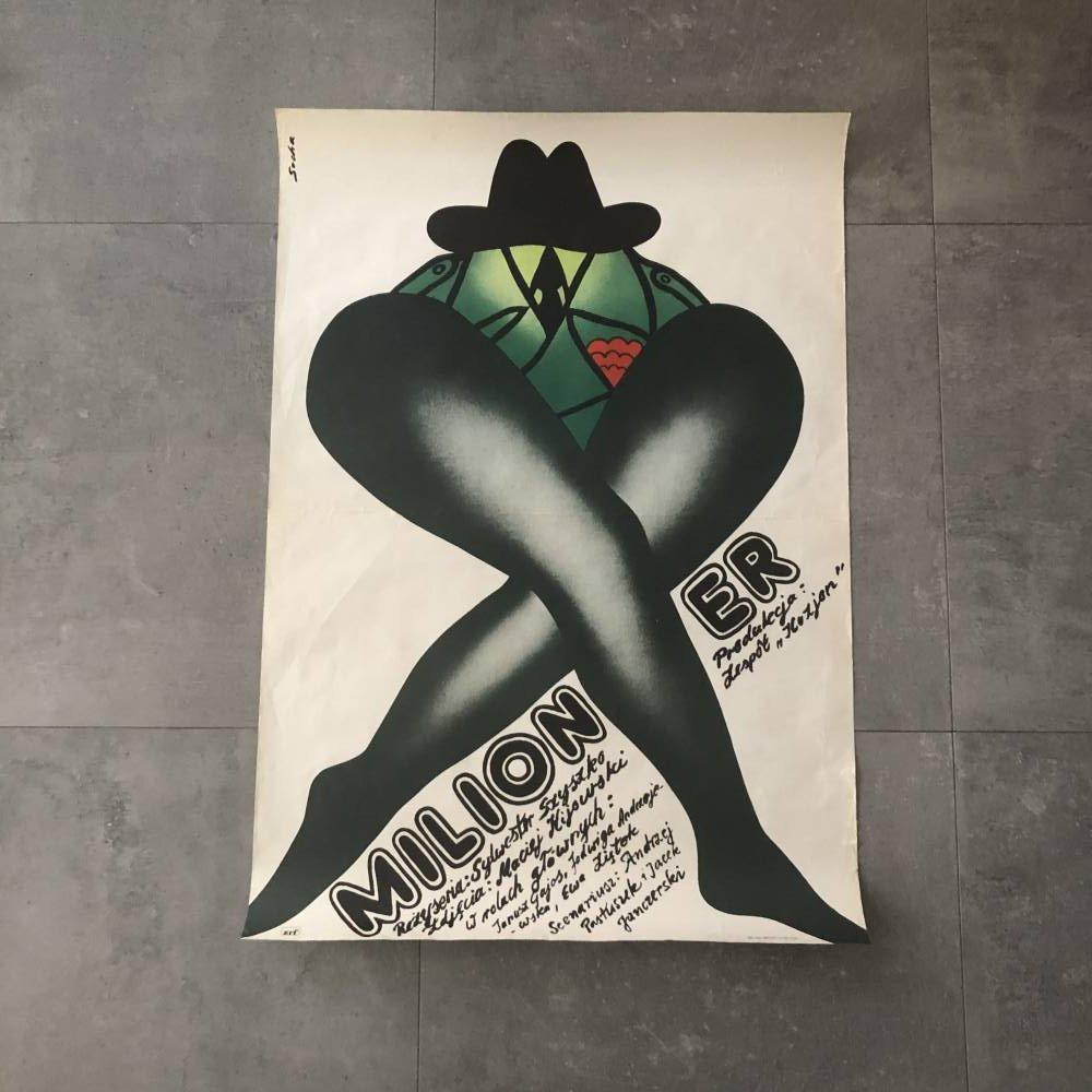"""Plakat """"Milioner"""""""